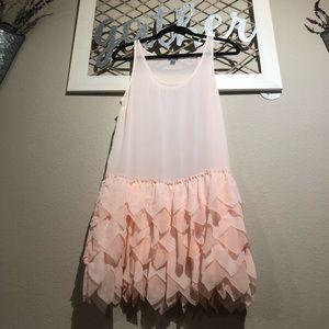 ✨Aerie ruffled Slip dress sz M